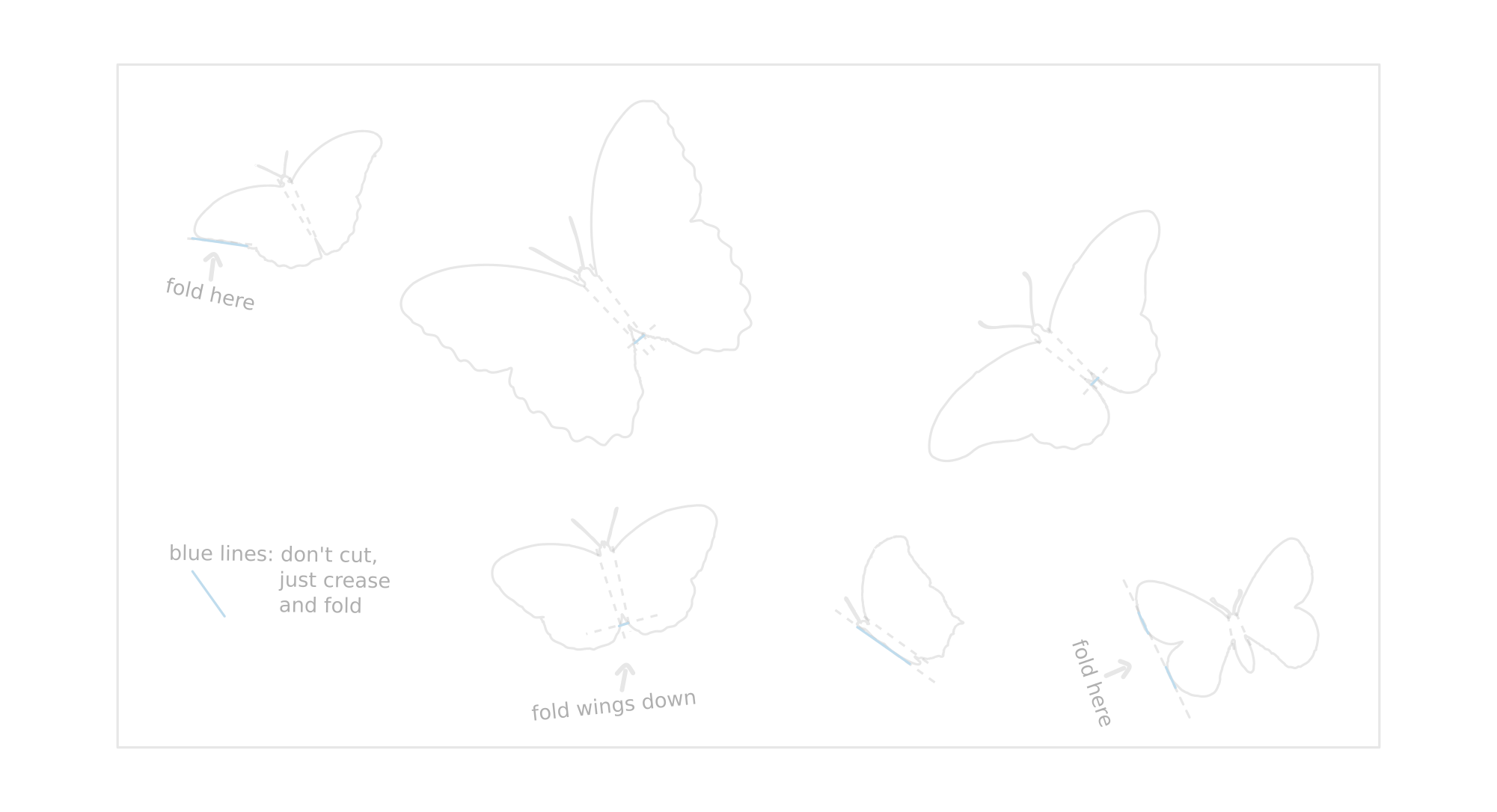 butterfly 3d paper picture. Black Bedroom Furniture Sets. Home Design Ideas
