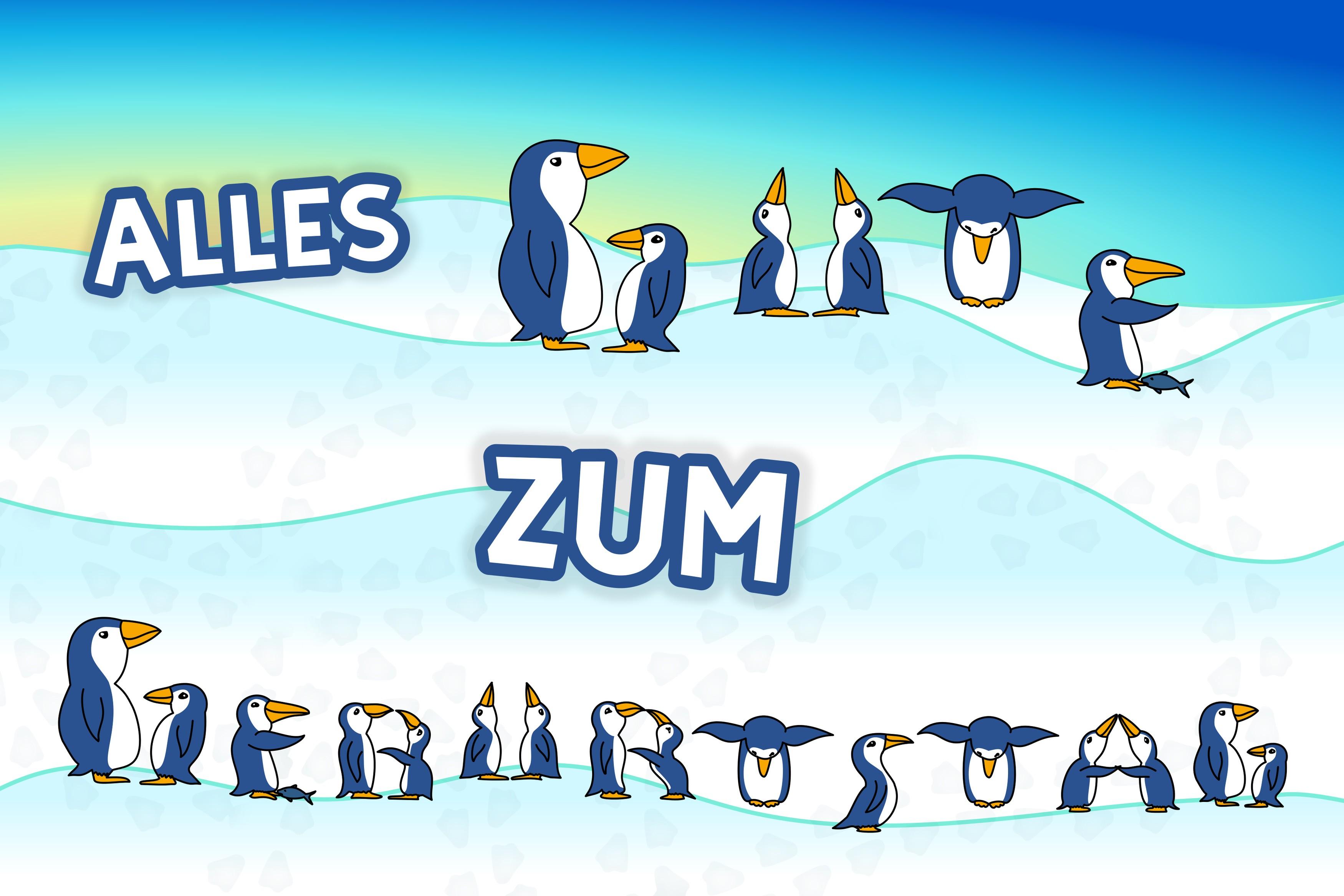 Geburtstagskarte Fur Pinguinfans